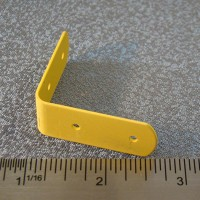 yellow bracket