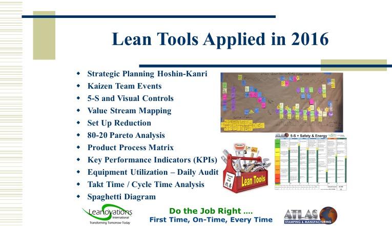 is kpi a lean tool